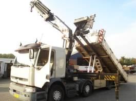containersysteem vrachtwagen Renault PREMIUM 370 DCI.32 8X2/HMF 37 TON M/NCH LIFT/MANUAL 2006