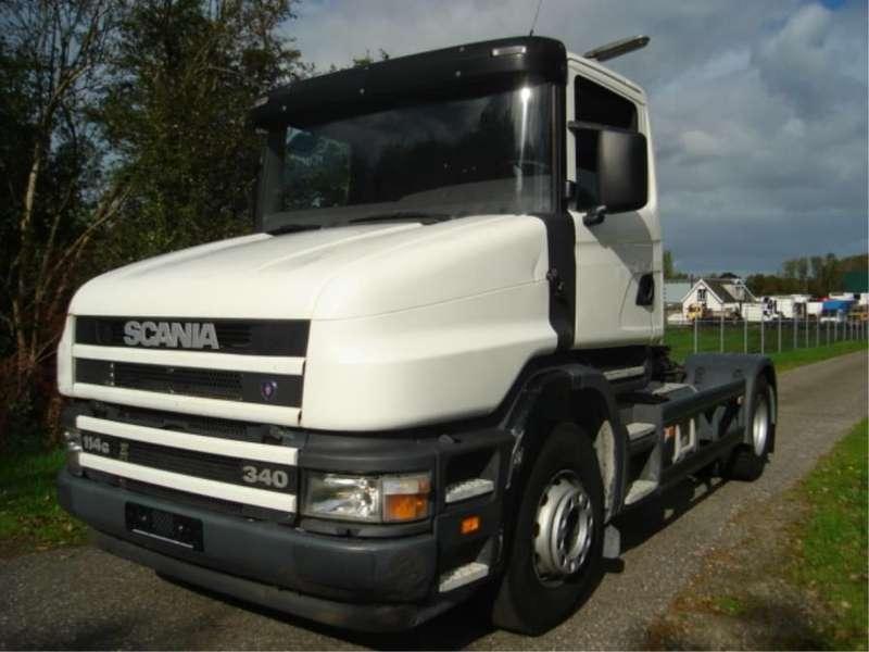 Scania - T 114 G.STEEL/STEEL.MANUAL 1