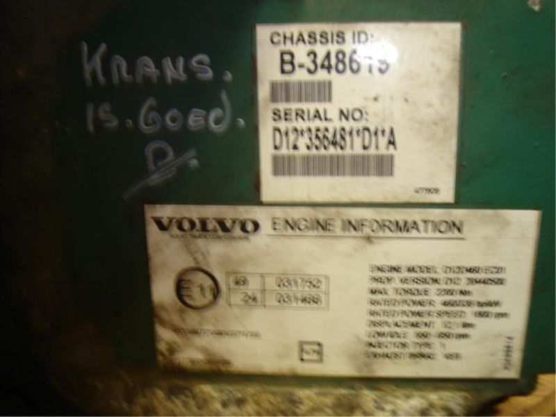 Volvo - ECU/MOTORBOX/FH12/FH13/D12/D13 1