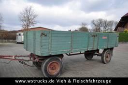 open laadbak aanhanger Langendorf Anhänger Getreide dicht