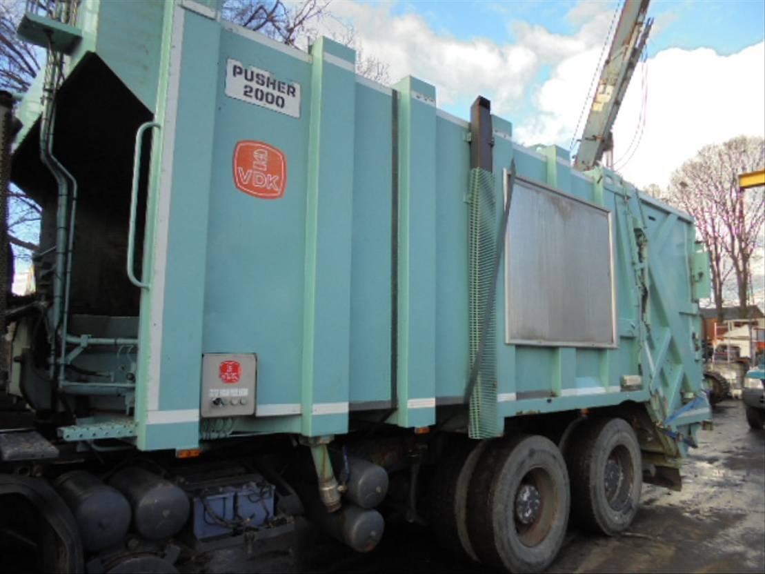 Opbouw vrachtwagen onderdeel Diversen Pusher Occ vuilniswagen systeem pusher 2000 2002