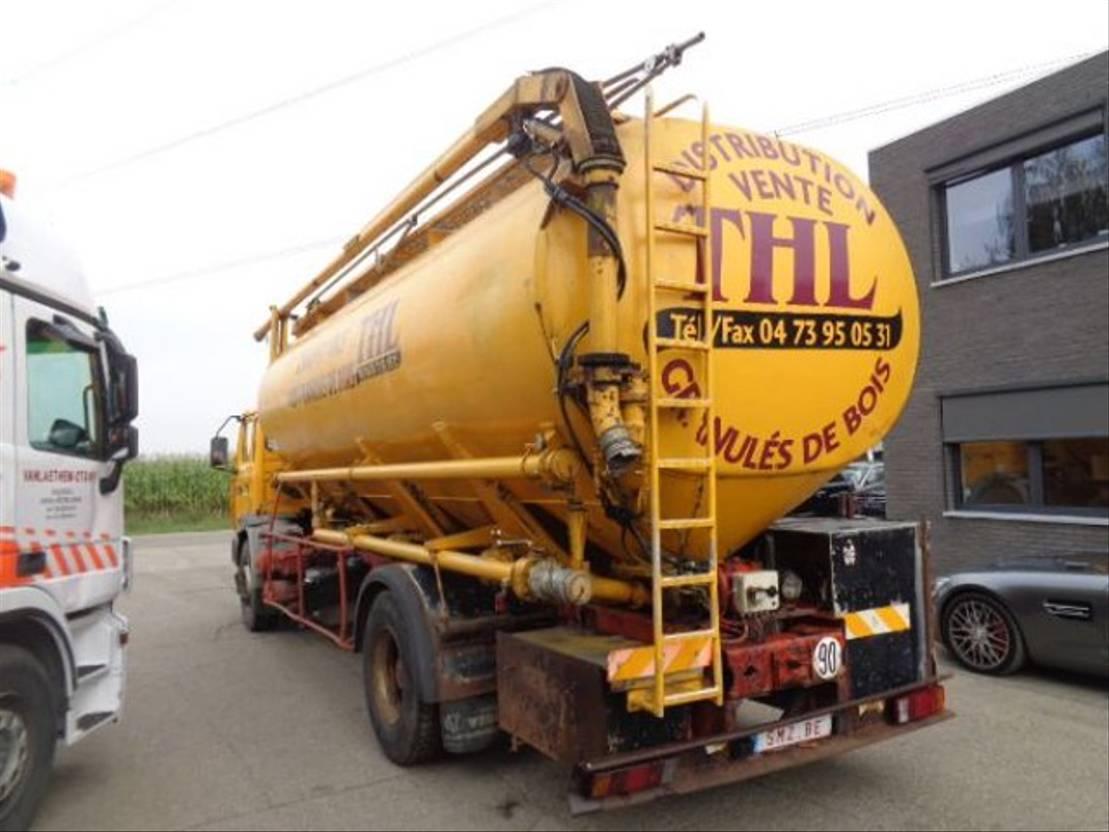 Opbouw vrachtwagen onderdeel Diversen Occ graansilo GS24