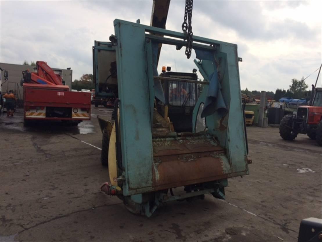 Opbouw vrachtwagen onderdeel Terberg Occ vuilniswagen systeem Terberg