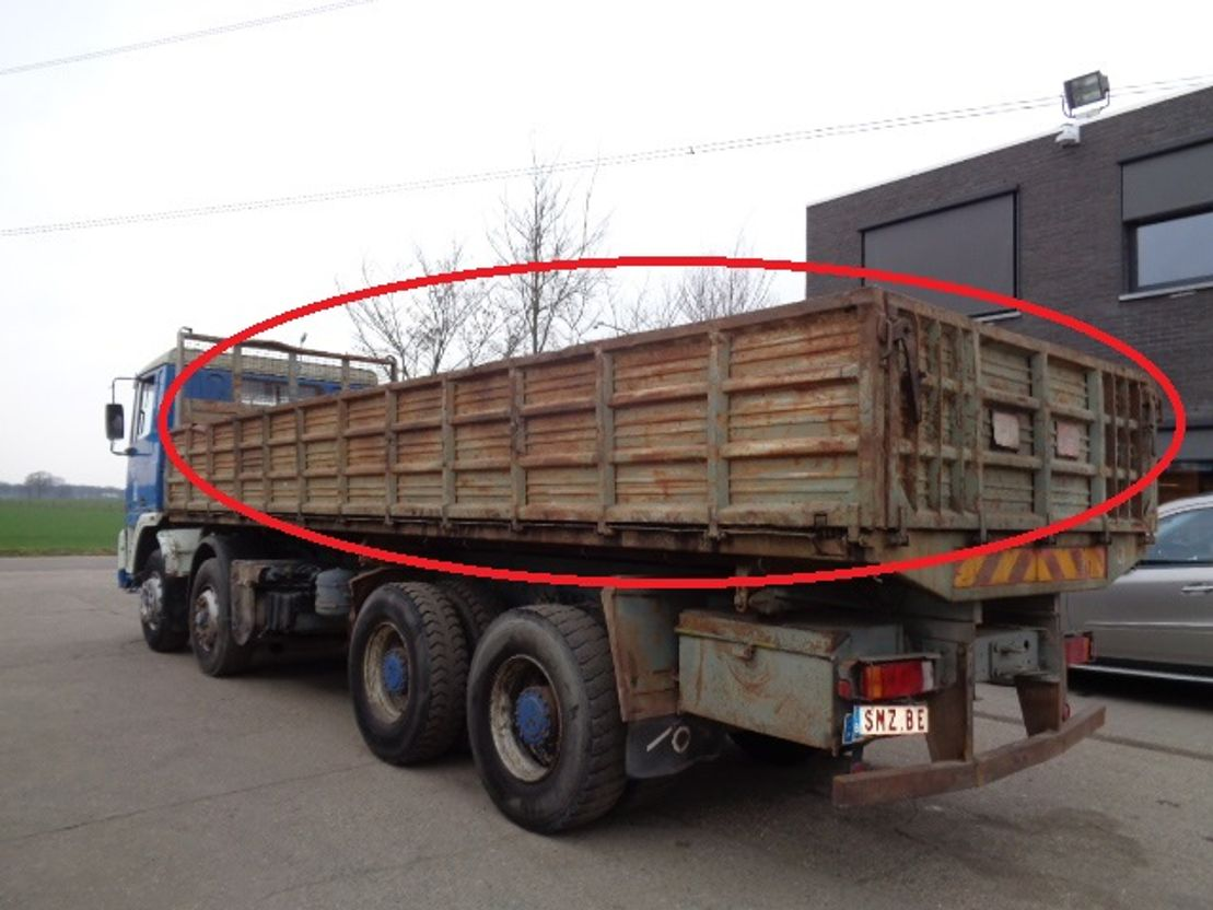 Kipperbak vrachtwagen onderdeel Diversen Occ kipperbak 7.90 x 2.34 x 0.80 m
