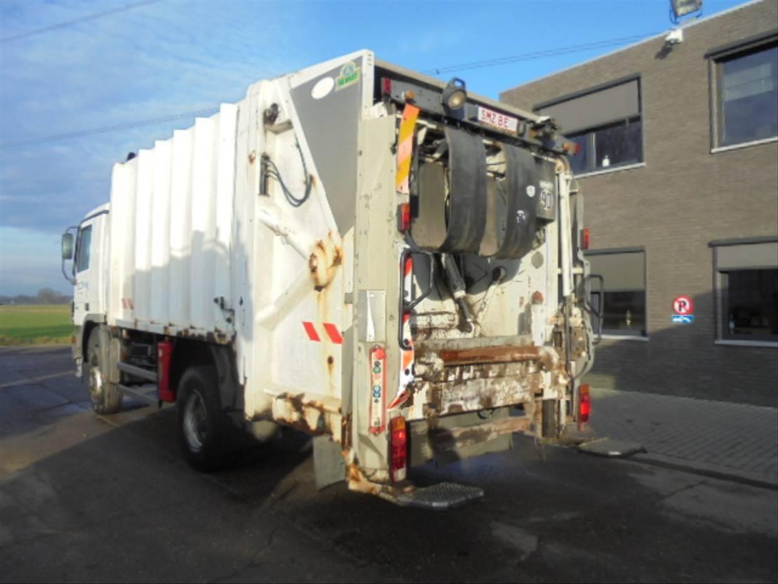 Opbouw vrachtwagen onderdeel Diversen Occ opbouw Vuilniswagen