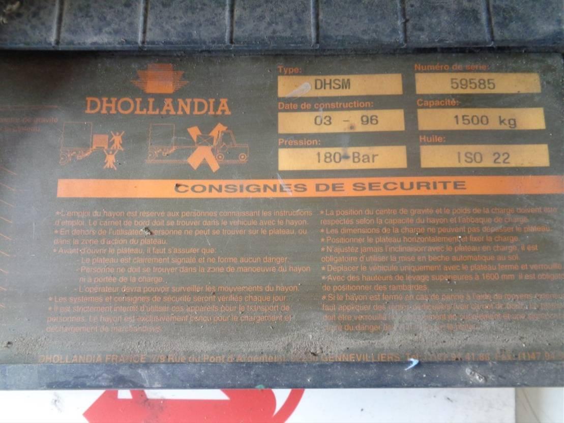 Opbouw vrachtwagen onderdeel Dhollandia Occ besturing liftsysteem DHSM