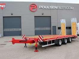 dieplader aanhanger Hangler 3-axle tridem machinery trailer 2.800mm ramps 2020