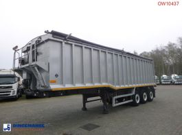 kipper oplegger Wilco x Tipper trailer alu 48.5 m3 + tarpaulin 2010