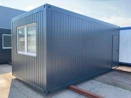 kantoor woonunit container Winters Tweedehands Bureelcontainer 6 x 3m