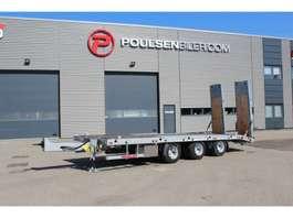 dieplader aanhanger Hangler machinery trailer with hydraulic ramps 2020