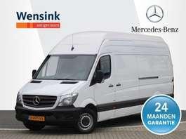 gesloten bestelwagen Mercedes Benz Sprinter 316 CDI 163 pk L3 H3 Extra Hoog GB   Automaat, Dubbele Schuifde... 2016