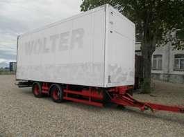 gesloten opbouw aanhanger Schmitz Cargobull 2-assige aanhangwagen 2002