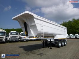 kipper oplegger Galtrailer Tipper trailer steel 40 m3 / 68 T / steel susp. / NEW/UNUSED 2019