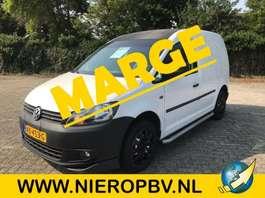 gesloten bestelwagen Volkswagen CADDY Airco Lederen bekleding Marge  ! 2013