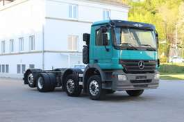 chassis cabine vrachtwagen Mercedes Benz Actros 3244 Euro5 8x2 Fahrgestell 2007