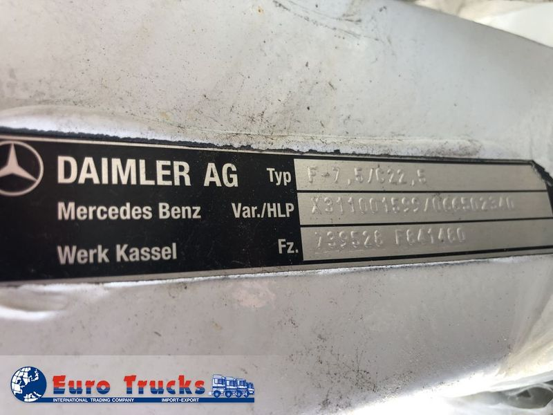 Mercedes Benz - Front axle Actros MP4 F-7.5  new 3
