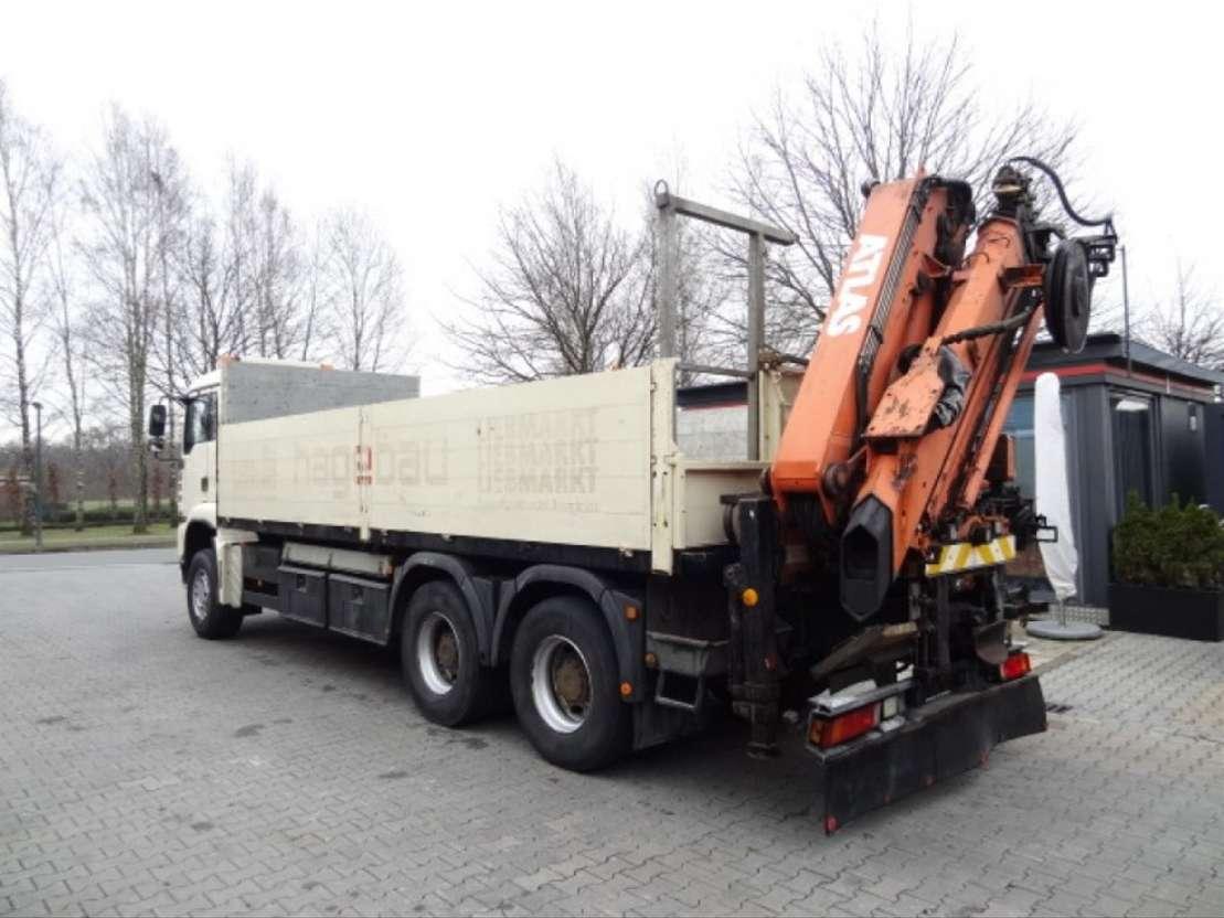 kraanwagen MAN TGA 33.410 6X4 ATLAS 190 2004