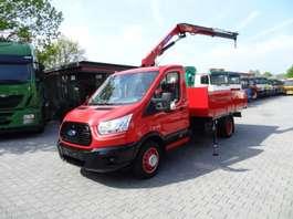 kraanwagen FORD TRANSIT 470 KRAN HMF 340 NEUWERTIG 2016