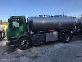 tankwagen vrachtwagen Renault 370 MET TANK ROESTVRIJ STAAL 11000 L-BLAD-HANDBAK 2002
