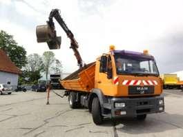 kraanwagen MAN LE280B 18 to. 18.280 Euro 3 manuell Kran aus2011