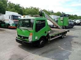 hoogwerker bedrijfswagen Nissan CABSTAR 35.11 WITH MULTITEL LIFT 160ALU/DS - 16 m 2008