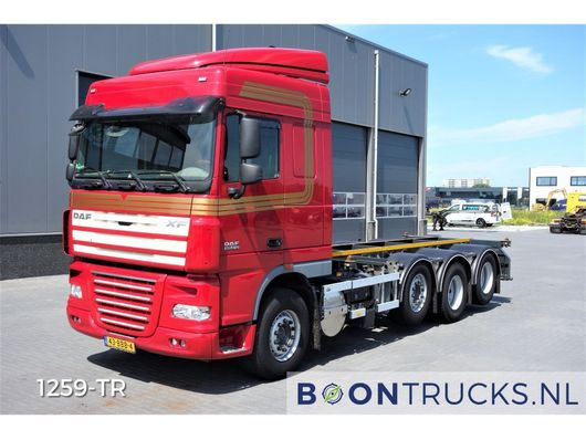 containersysteem vrachtwagen DAF XF105.510 8X2 | MANUAL 20 ft CONTAINERFRAME 2012