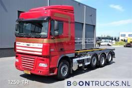wissellaadbaksysteem vrachtwagen DAF XF 105 XF105.510 8X2 | MANUAL 20 ft CONTAINERFRAME 2012