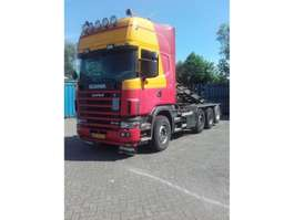 containersysteem vrachtwagen Scania kabelsysteem 2005