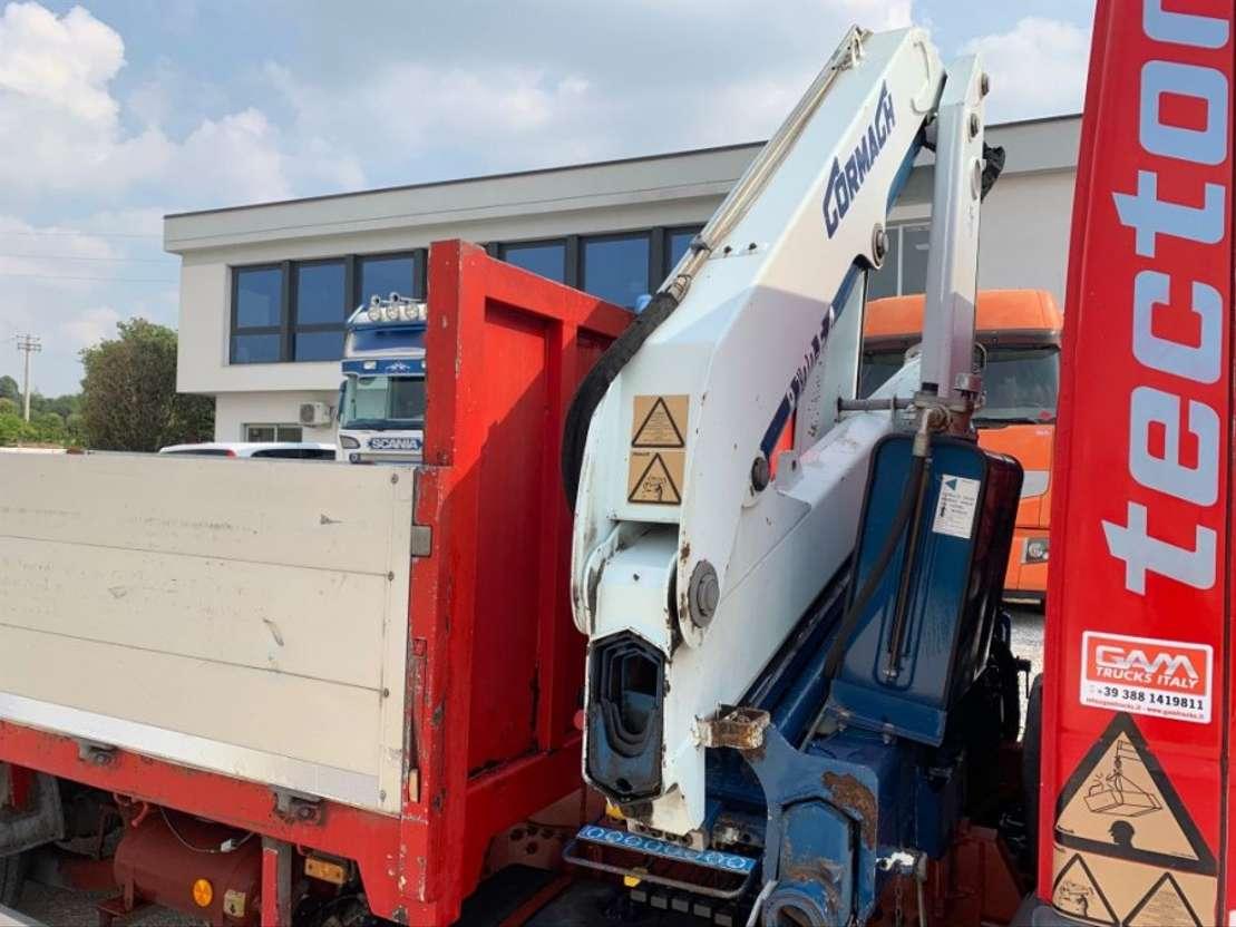 open laadbak vrachtwagen Iveco Eurocargo 100E21 Cormach 8.700E4