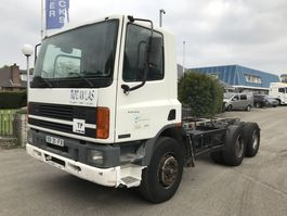 chassis cabine vrachtwagen DAF 75 ATi 270 6x4 STEEL MANUAL 1995