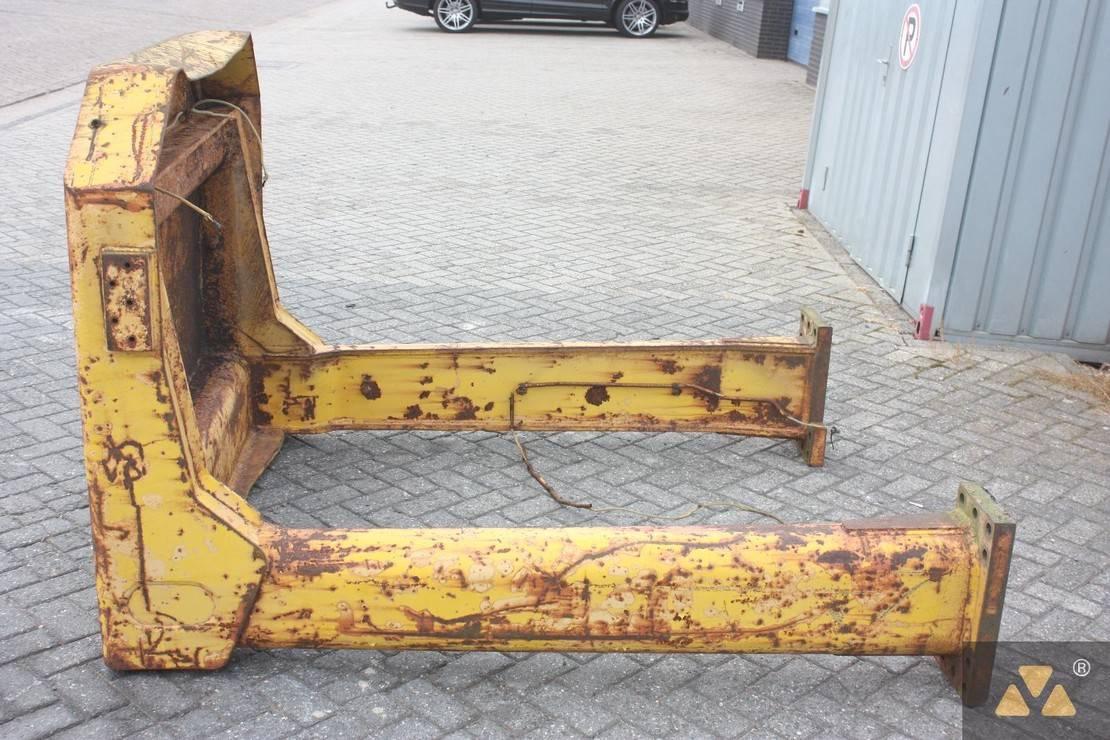cabine - cabinedeel equipment onderdeel Caterpillar O-rops cab 980