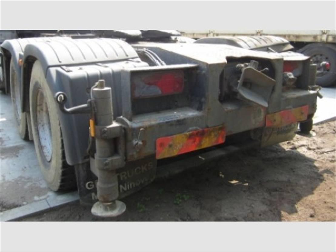 chassis vrachtwagen onderdeel Diversen steunvoetbalk 2 TD-EHP/C-CR 2005