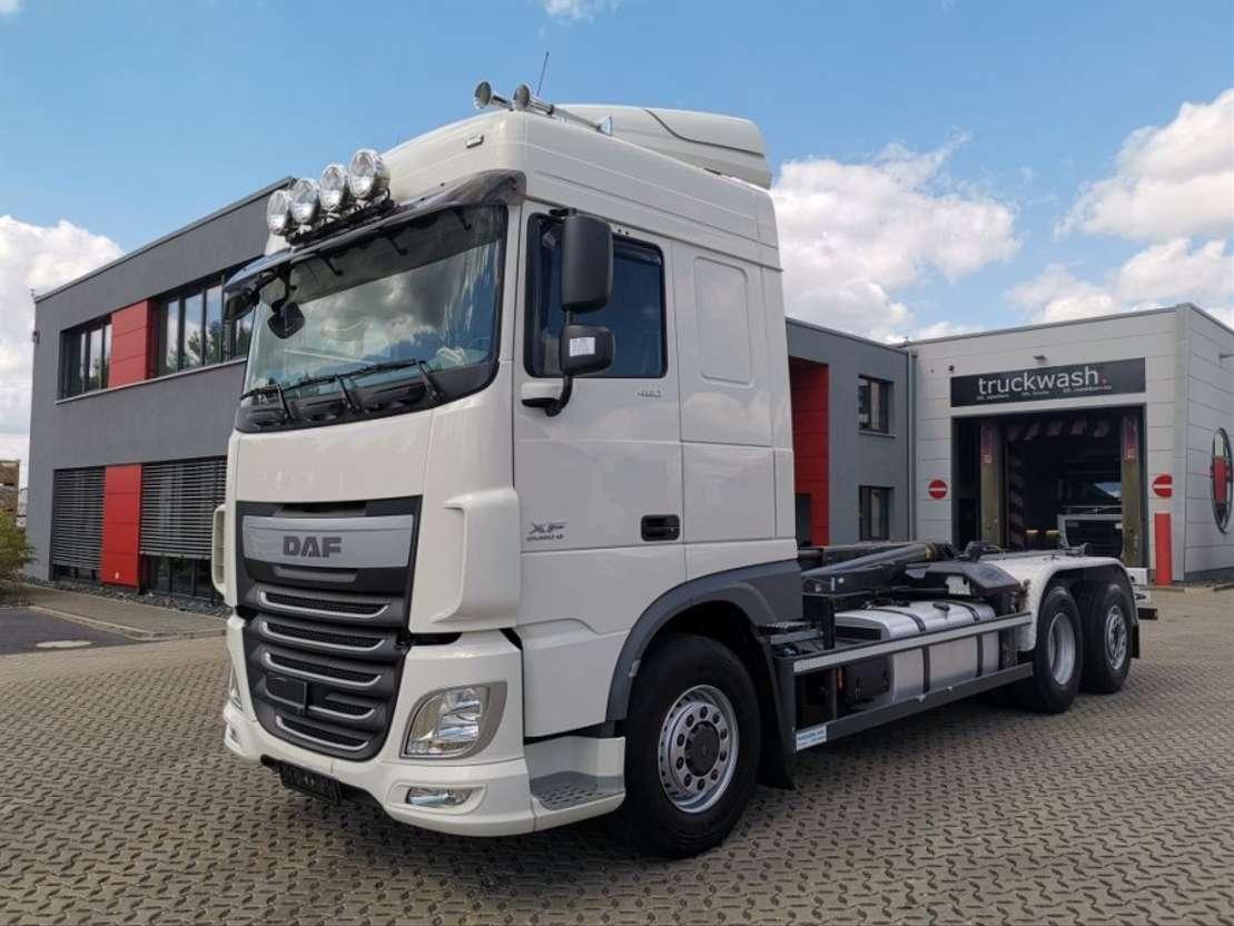 containersysteem vrachtwagen DAF XF 460 6x4 / Manual / Hydroaxle+/NAVI/Standklima 2015