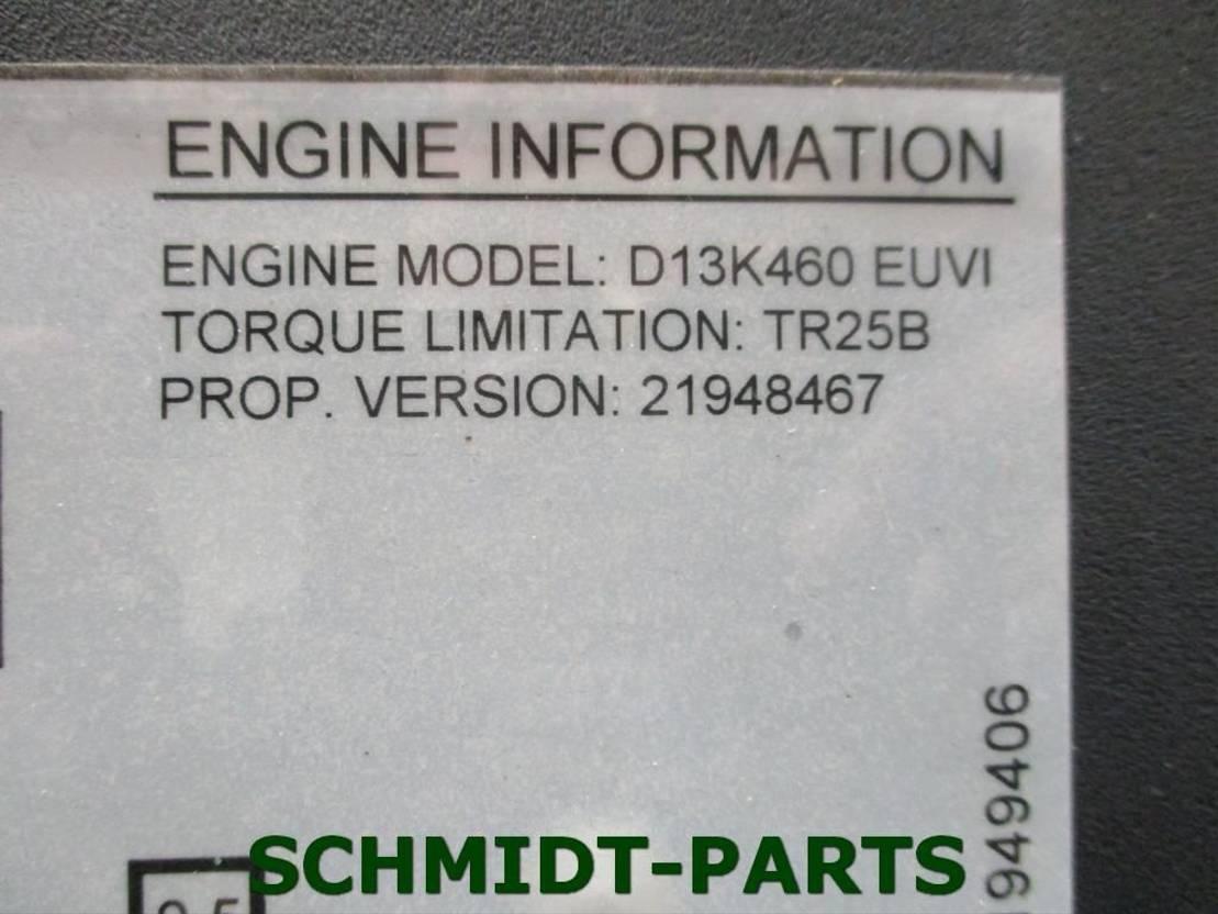 Motor vrachtwagen onderdeel Volvo D13K460 EUVI Euro6 Motor 2014