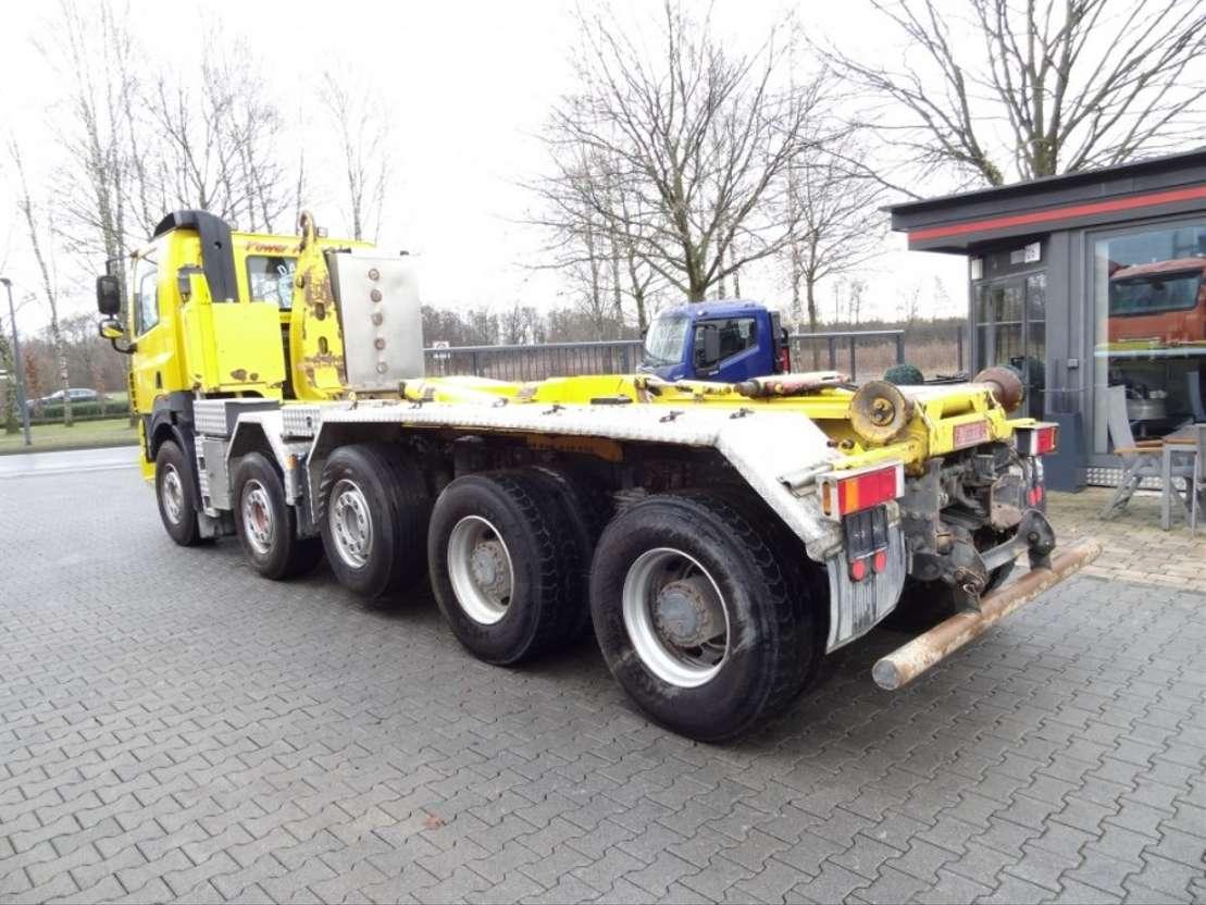 wissellaadbaksysteem vrachtwagen DAF CF85 460 10X4 HAKEN 2007