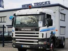 standaard trekker Scania SCANIA 114/380 4X2 MANUEL-GEARBOX 2000