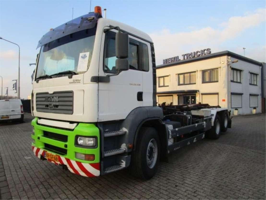 containersysteem vrachtwagen MAN 26-430 6x2 2005