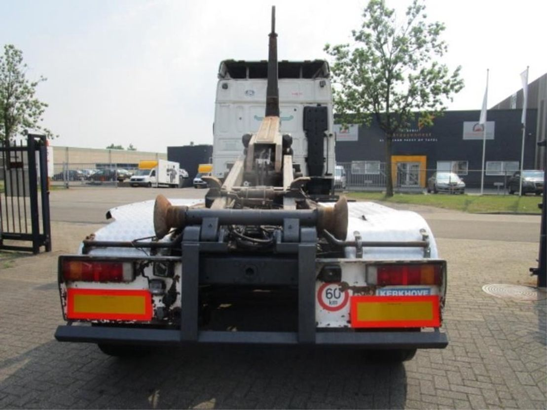 containersysteem vrachtwagen DAF 105.XF 410 6X2 EURO-5 2008
