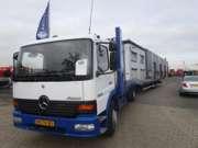 MERCEDES_BENZ - MERCEDES ATEGO 1528 MANUEL-GEARBOX - Autotransporter