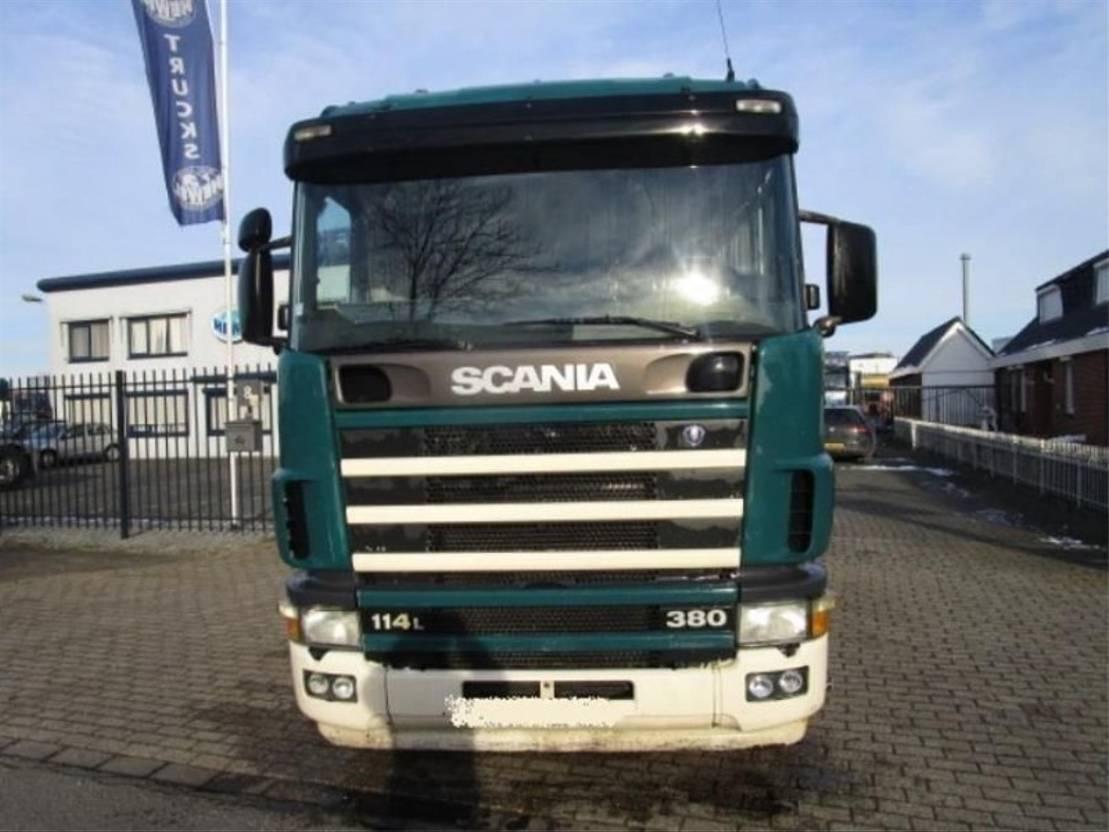 standaard trekker Scania 114-380 4X2 MANUEL-GEARBOX 2004