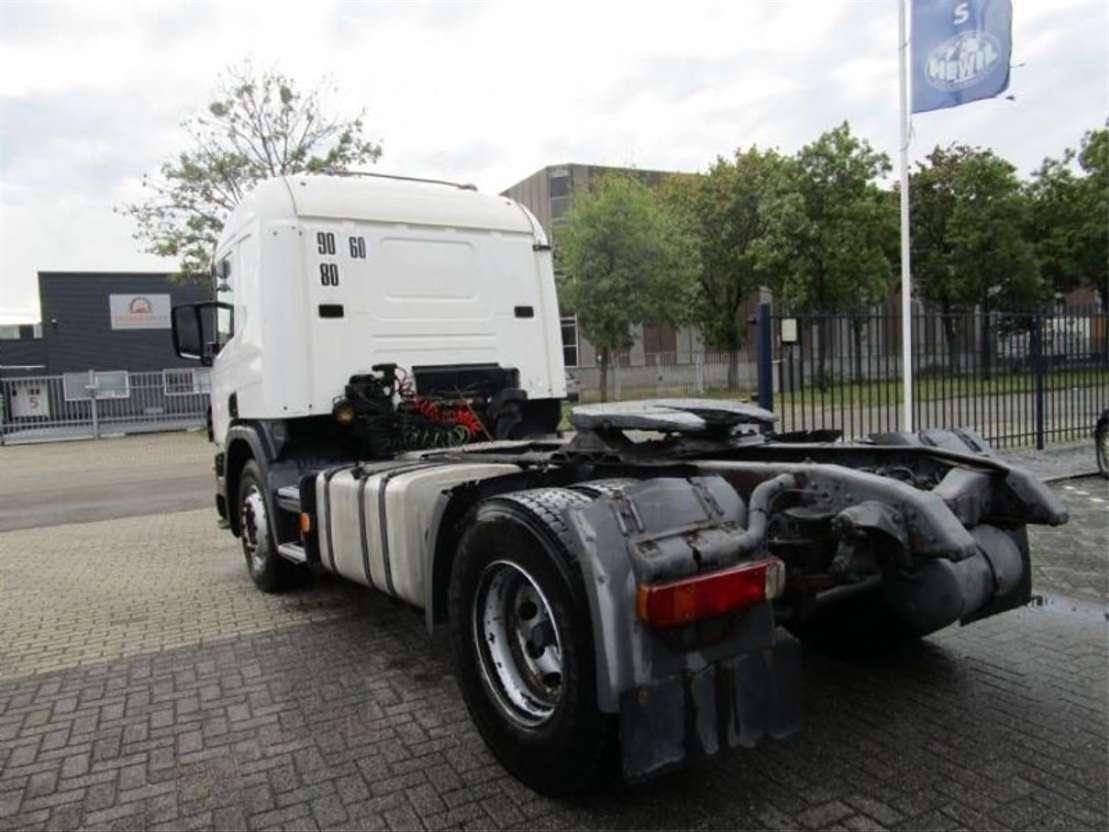 standaard trekker Scania SCANIA  114/380   MANUEL-GEARBOX 1999