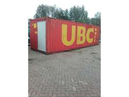 overige containers ABB 30ft bulk container met loopdeur 30ft container met loopdeur