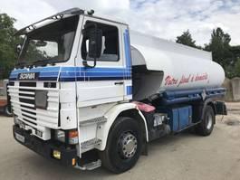 tankwagen vrachtwagen Scania 143M 450 1992