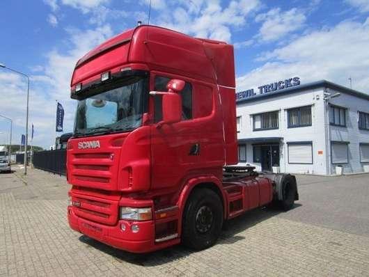 standaard trekker Scania r-420 2005