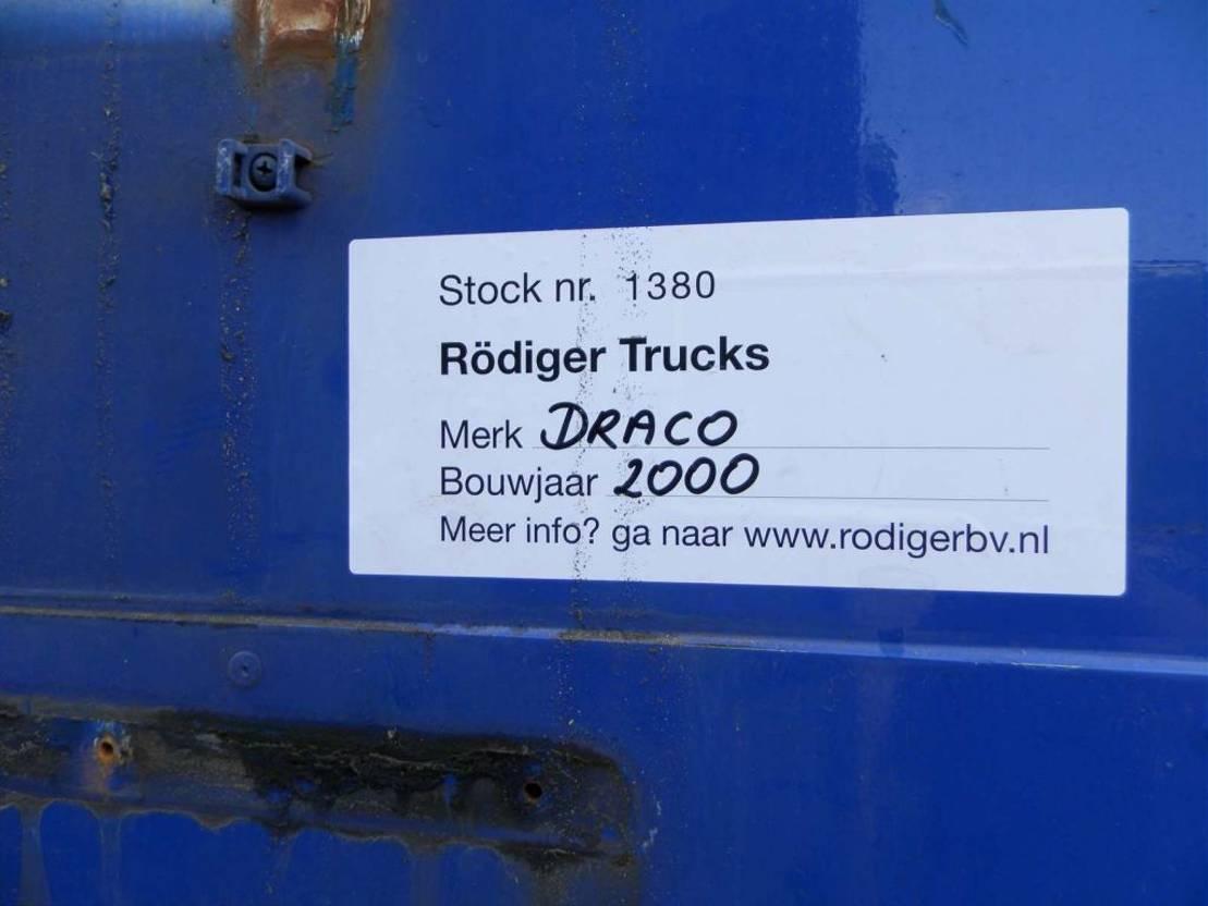 gesloten opbouw oplegger DRACO 2-assige oplegger 2000