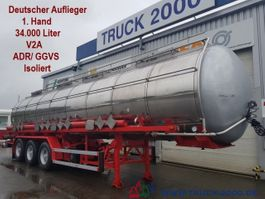 tankoplegger GoFa*Chemie*34.000L.*V2A*ADR/ GGVS*Isoliert 2000