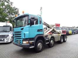 wissellaadbaksysteem vrachtwagen Scania G440 8X4 HAKEN 2010