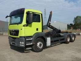 containersysteem vrachtwagen MAN 26.440 BL - 6x4 - EURO 4 - MEILLER CONTAINERHAAK 2008