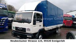 huifzeil bedrijfswagen MAN LE 8.180 Pritsche Plane LBW Topzustand