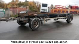 oprij aanhanger Renders Containeranhänger 18 t 4350 kg leer